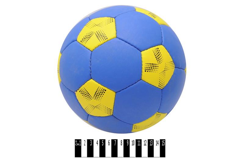 Мяч футбольный YELLOW-BLUE