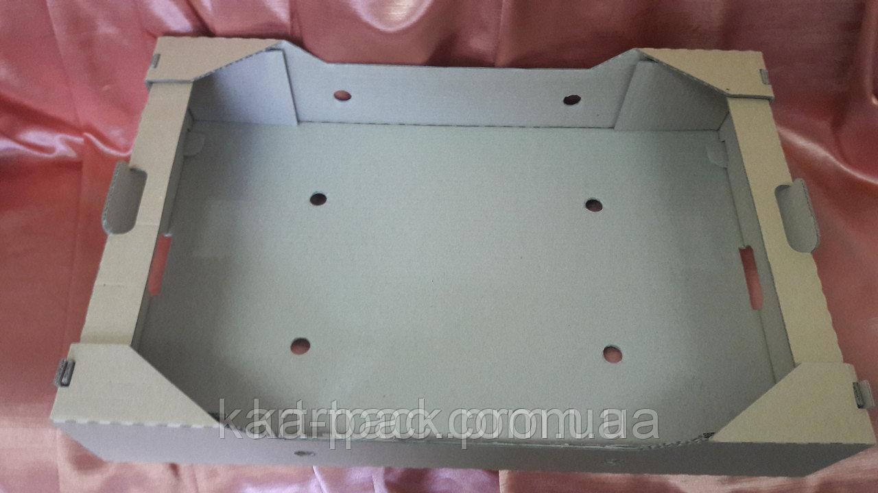 Ящик для огурцов картонный 580*370*82 (162)