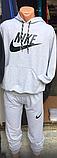 Мужской спортивный костюм, р. М, бордово-черный, фото 6