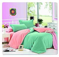 Красивое однотонное постельное бельё Valtery MO-4 CB18