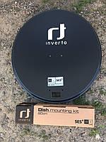 Спутниковая антенна Inverto 0,6 (INVERTO ALCF62 az/offset black) алюминиевая черная