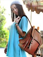 Рюкзак портфель женский кожаный