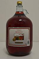 Вино сухое розовое Vino Rosato Gielle 5 л.