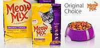 Meow Mix Original Choice корм для взрослых кошек с курицей и индейкой, 7.26 кг