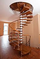 """Изготовление и монтаж винтовых лестниц для дома """"под ключ"""""""