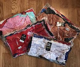 Трусики женские кружевные, гипюровые женские трусы-шорты