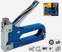 Степлер металлический 4-14 мм, синий mastertool  41-0905
