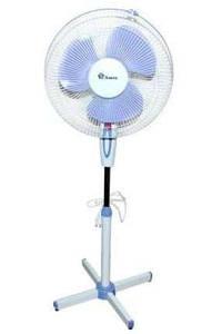 Напольный вентилятор Domotec/Wimpex, диаметр-40см. Лопастный вентилятор Domotec.