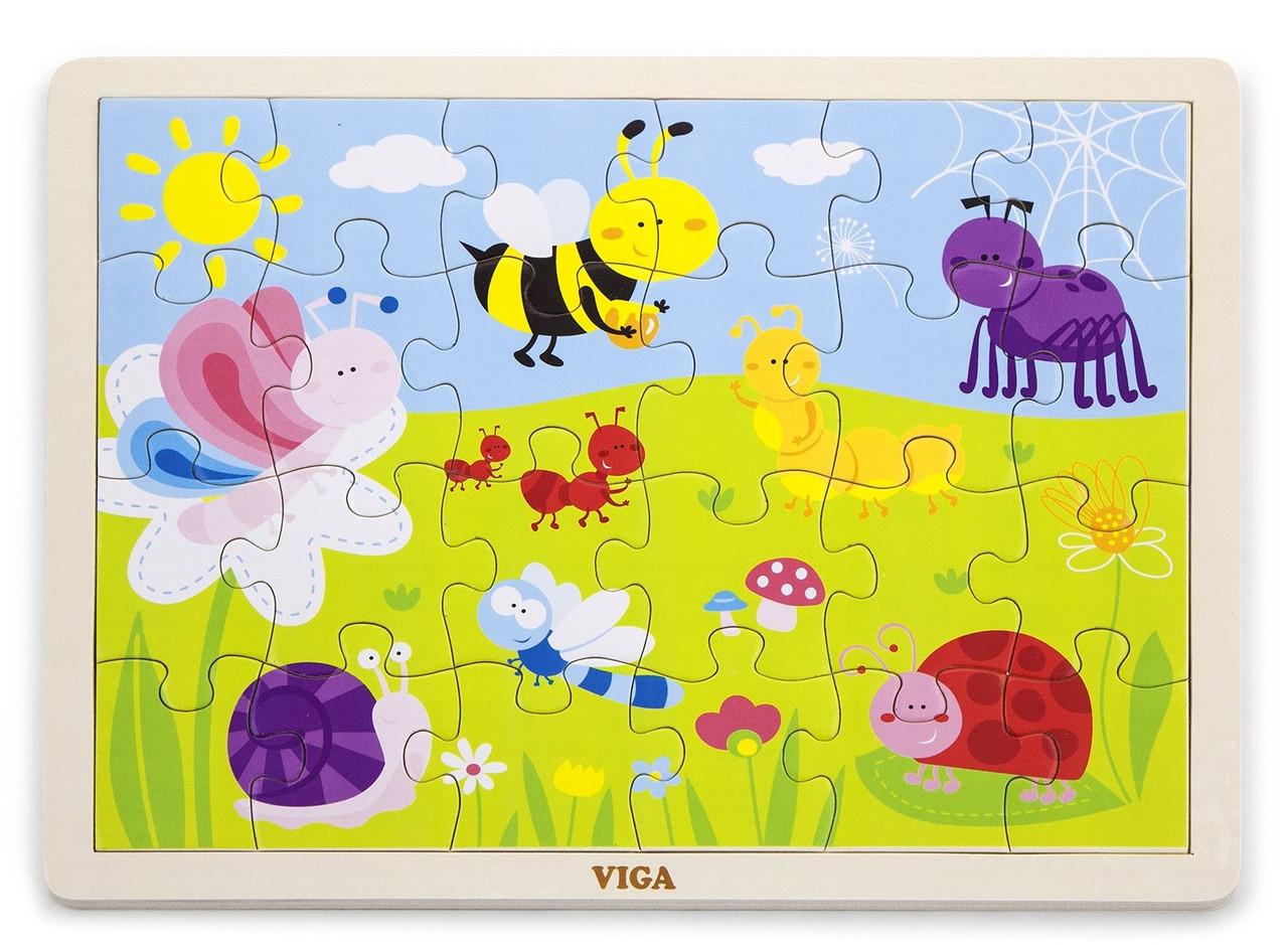 Пазл Viga toys Парк 24 эл. (50199)