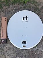 Спутниковая антенна Inverto 0,9 (INVERTO ALCF92 az/offset black) алюминиевая черная