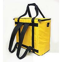 Термо рюкзак желтый, фото 1
