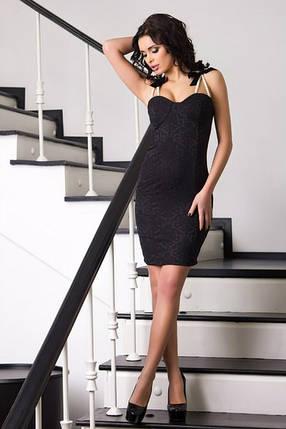 Жаккардовое платье , фото 2