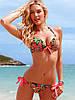 Купальник  Victoria's Secret (Виктория Сикрет) Цветочный рисунок СС5253