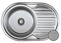 Кухонная стальная мойка (77*50*18 см) Galati Dana Nova Textură 8486