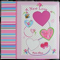 Детский фотоальбом для девочки на 200 фотографий, Сердце