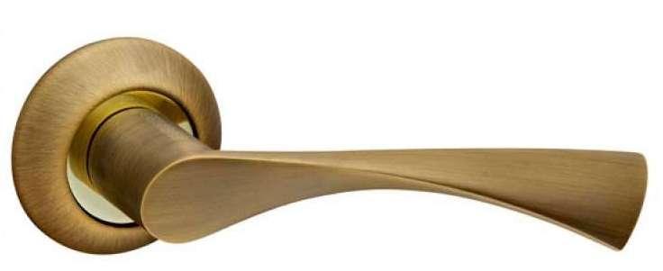 Ручка дверная на розетке Fuaro Primaматовая бронза (Китай)
