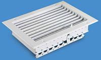 EMC-D - решетка алюминиевая двухрядная со встроенным демпфером