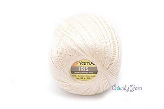 YarnArt IRIS, молочный №911