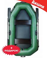Двухместная надувная лодка Ладья ЛТ-220ДЕ. Гребная;