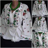 """Блуза на домотканом полотне """"Одарочка"""", 46 и 54 р-ры,"""