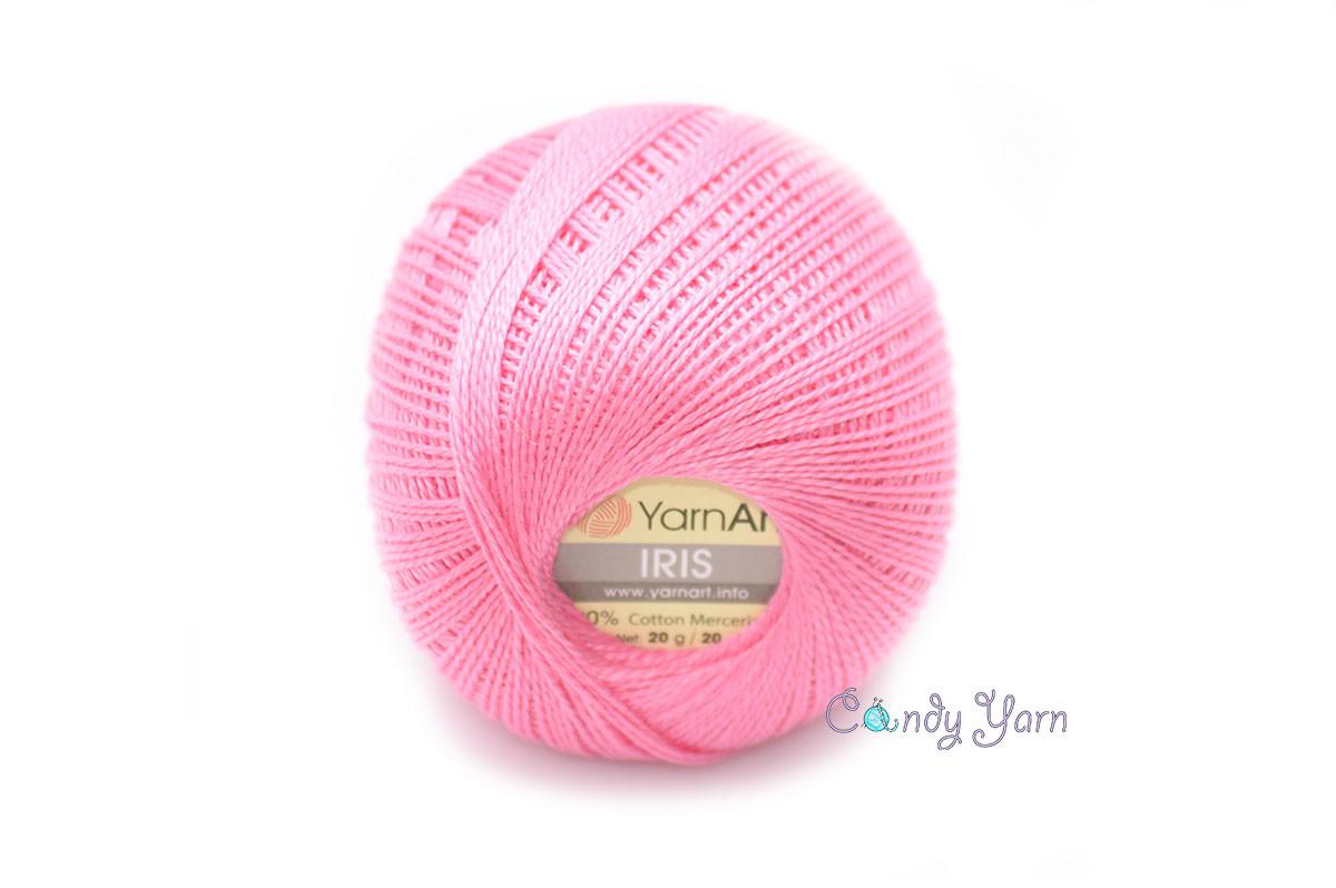 YarnArt IRIS, розовый №915