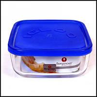 Емкость для продуктов стеклянная с крышкой 0,96 л 150Х150Х62 мм Borgonovo 14006900