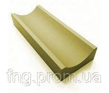 ЗОЛОТОЙ МАНДАРИН Отлив 500х200х60 мм коричневый на сером цементе