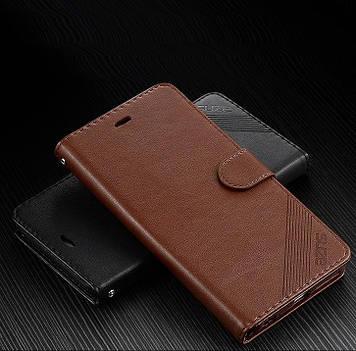 """Huawei ENJOY 7 Plus оригинальный кожаный чехол кошелёк из натуральной телячьей кожи на телефон """"SUZE"""""""