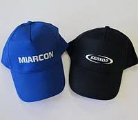 Печать логотипов на кепках