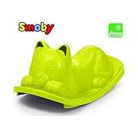 Качалка котик зеленый Cat Green Smoby 830104