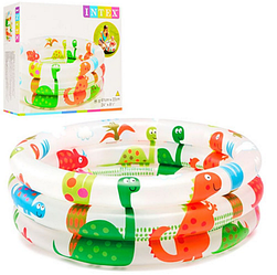 Бассейн детский надувной - динозавры.Детский надувной бассейн.Детский бассейн.