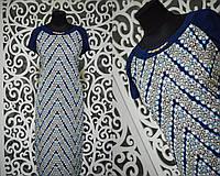 """Прекрасное женское платье ткань """"масло"""" 50, 52, 54 размер баталы"""