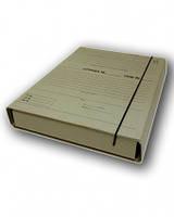 Короб архивный для нотариусов 20 х 320 х 240 мм с планками для подшивки