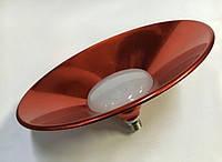 LM711 Лампа Lemanso LED 36W E27 2880LM 6500K IP65 + метал. отраж. красный