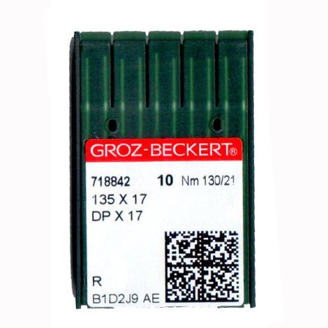 Иглы для промышленных швейных машин 135X17/DPX17 130 R Groz-Beckert