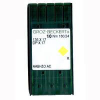 Иглы для промышленных швейных машин 135X17/DPX17 180 R Groz-Beckert