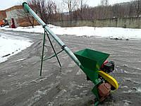 Шнековый транспортер, винтовой погрузчик ШТС-108, зернопогрузчик