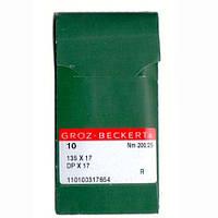 Иглы для промышленных швейных машин 135X17/DPX17 200 R Groz-Beckert