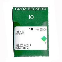 Иглы для промышленных швейных машин 135X17/DPX17 230 R Groz-Beckert