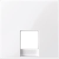 Центральная плата для механизма телефонной розетки RJ12 Merten Активно-Белый (MTN469625)
