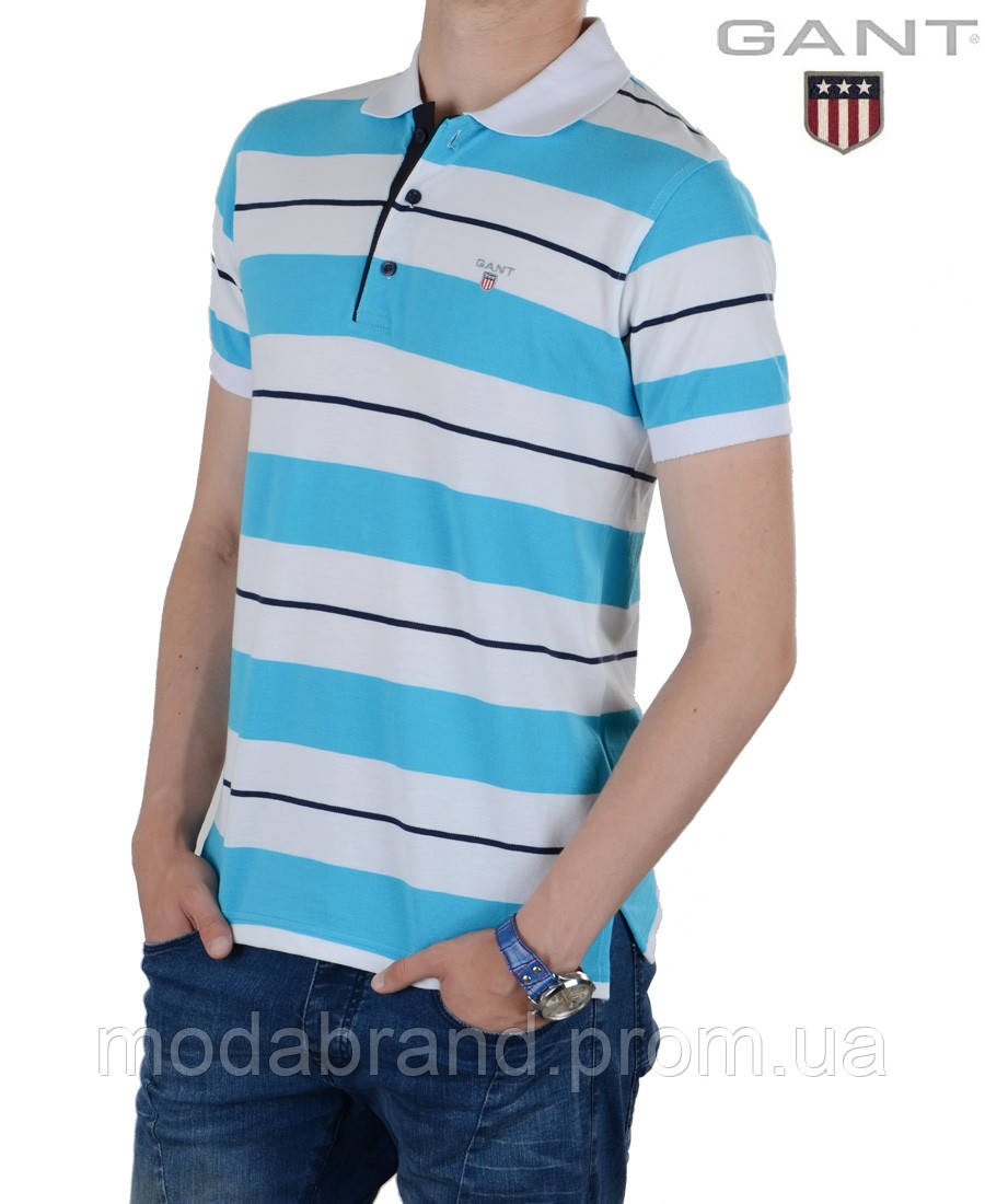 fc6eecc438a09 Мужская футболка поло в полоску. -