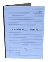 Папка архивная нотариуса с титулки с клапаном