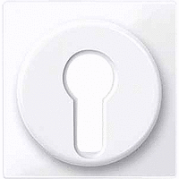 Центральная плата для переключателя с фиксатором рольставни Merten Активно-Белый (MTN319525)
