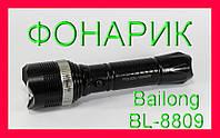 Практичный и удобный фонарик Bailong BL-8809, фото 1