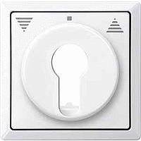 Центральная плата для переключателя с фиксатором рольставни Merten Полярно-Белый (MTN319719)