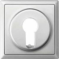 Центральная плата для переключателя с фиксатором рольставни Merten Сталь (MTN319646)