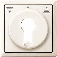 Центральная плата для переключателя с фиксатором рольставни Merten Бежевый (MTN319744)