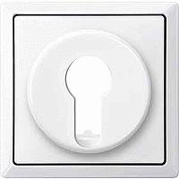 Центральная плата для переключателя с фиксатором рольставни Merten Полярно-Белый (MTN319619)