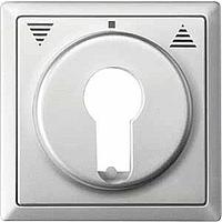 Центральная плата для переключателя с фиксатором рольставни Merten Стальной (MTN319746)