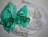 Інгалятор компресорний Юлайзер Home + доросла і дитяча маска, фото 2